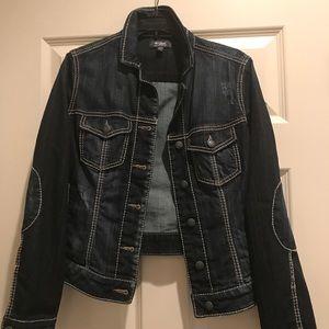 Blue denim jacket, brand Silver, size M